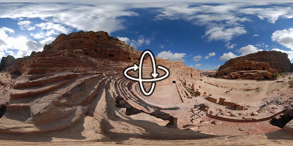 Nabatean Theatre in Petra