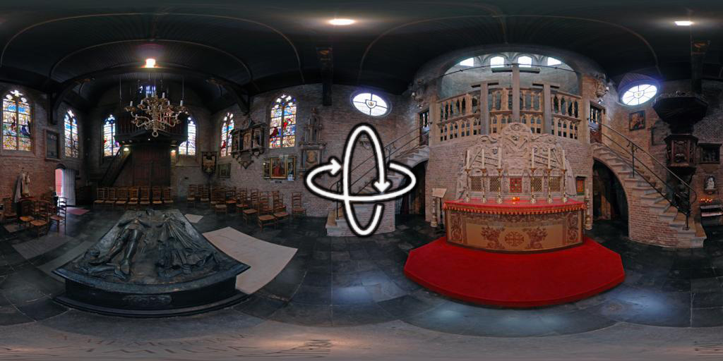 Church of Jerusalem in Bruges