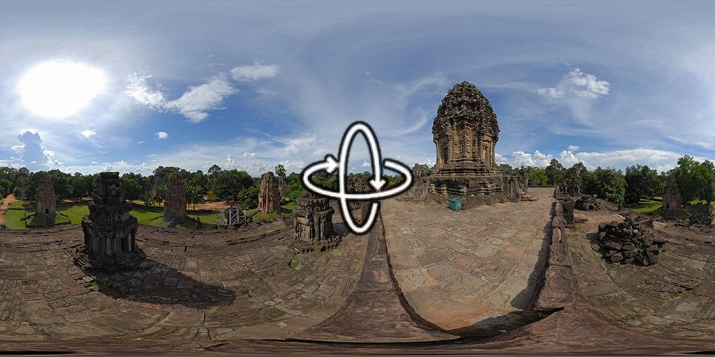 Bakong près d'Angkor