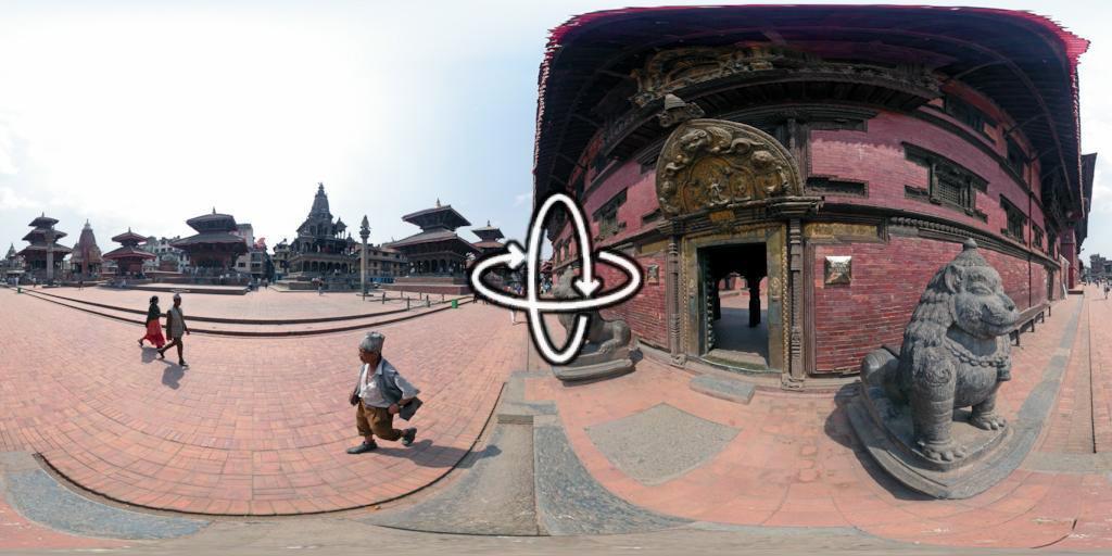 Patan Durbar Square in Kathmandu