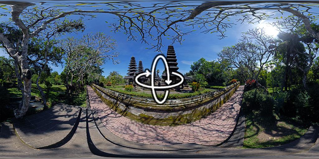 Les temples Taman Ayun et Besakih à Bali